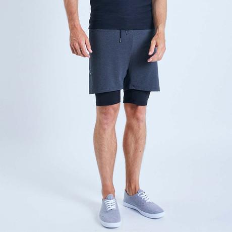 Eco II Dog Shorts // Graphite (S)