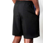 Warrior II Shorts // Black (2XL)