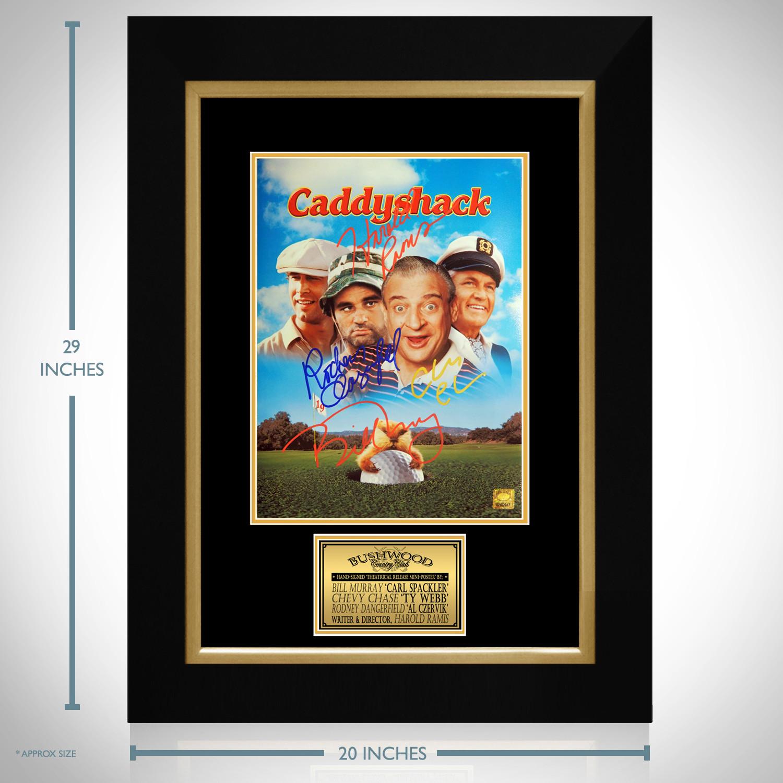 Caddyshack // Cast Signed Mini Poster // Custom Frame