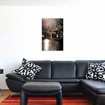 "Hallstatt Sunlight // Enzo Romano (12""W x 18""H x 0.75""D)"