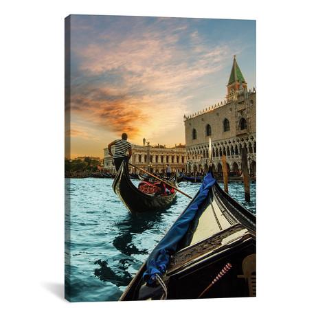 "Gondola Ride // Enzo Romano (12""W x 18""H x 0.75""D)"