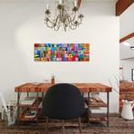 "Burano Study, Burano, Italy // Jim Nilsen (36""W x 12""H x 0.75""D)"