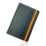 GoalDRVN Planner (Black + Orange)
