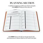 GoalDRVN Planner (Black + Orange)