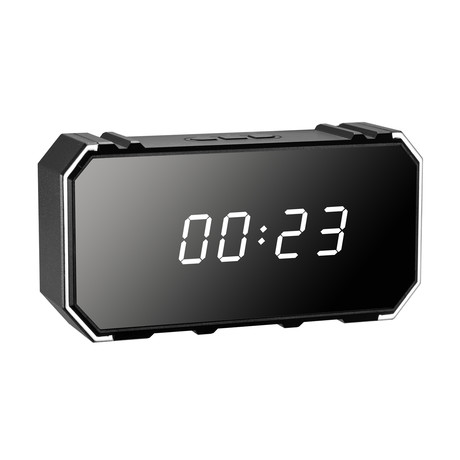 Digital Clock with Mirror // WiFi Streaming
