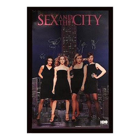 Signed + Framed Poster // Sex and the City