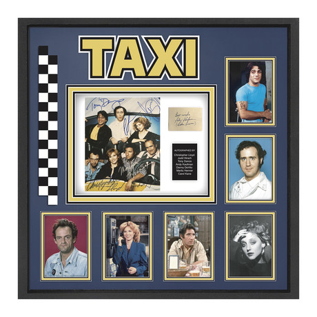 Signed + Framed Collage // Taxi