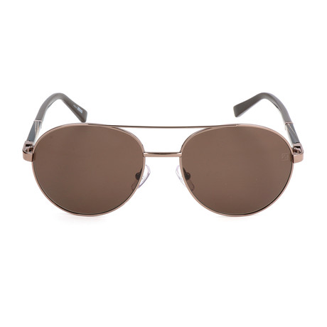 EZ0013 Sunglasses // Shiny Light Bronze