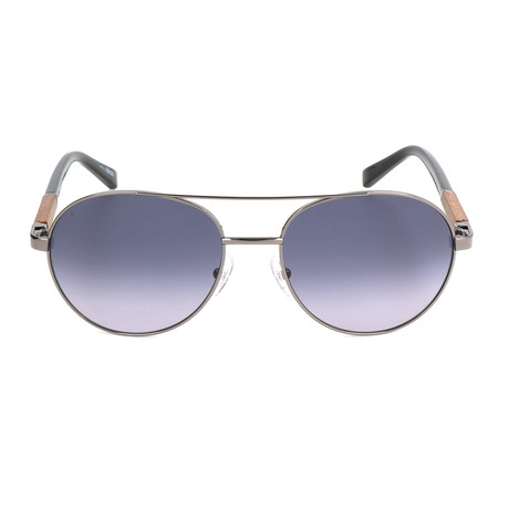 EZ0013 Sunglasses // Shiny Gunmetal