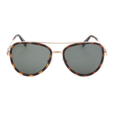 EZ0008 Men's Sunglasses // Shiny Rose Gold