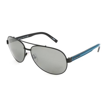Men's EZ0004 Sunglasses // Matte Black + Smoke