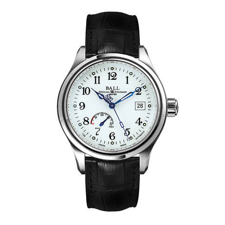 Ball Trainmaster Power Reserve Automatic // NM1056D-L1J-WH