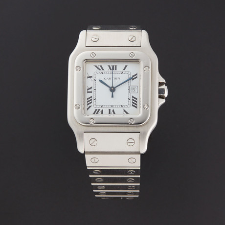 Cartier Steel Santos Automatic // Pre-Owned