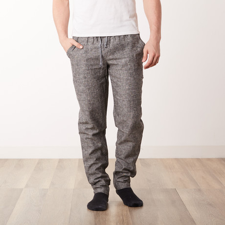 The Commander Woven Pant // Grey (S)