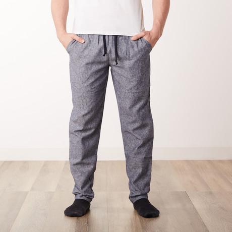 Farmer's Market Woven Pants // Blue (S)