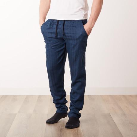 Costa Rica Woven Pants // Navy (S)
