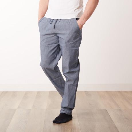 Boss Man Woven Pants // Blue (S)