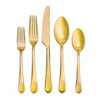18/0 Mirabella // Satin Gold Titanium // 20pc Set