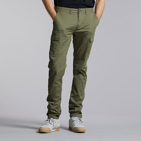 Willza Cargo Pant // Army Green (S)