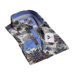 Celino // Reversible Cuff Button-Down Shirt // Cream (S)