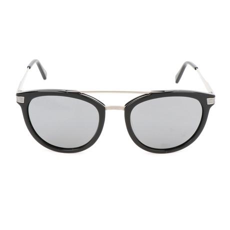 EZ0077-F Men's Sunglasses // Shiny Black