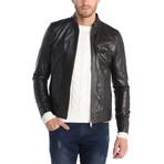 Trenton Leather Jacket // Brown (3XL)