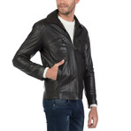 Rivera Leather Jacket // Brown (L)