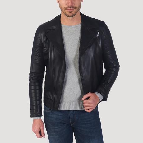 Frederick Leather Jacket // Black (S)