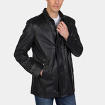 Mitchell Leather Jacket // Black (XS)