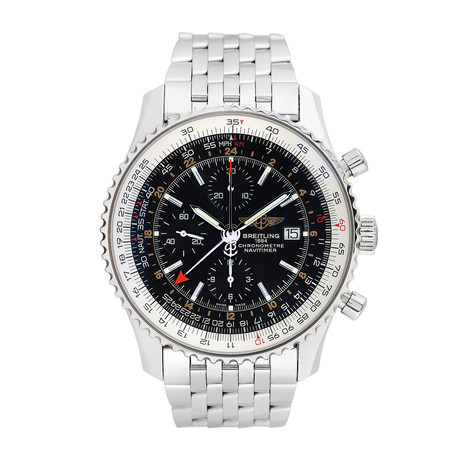 Breitling Navitimer World GMT Chronograph Automatic // Pre-Owned