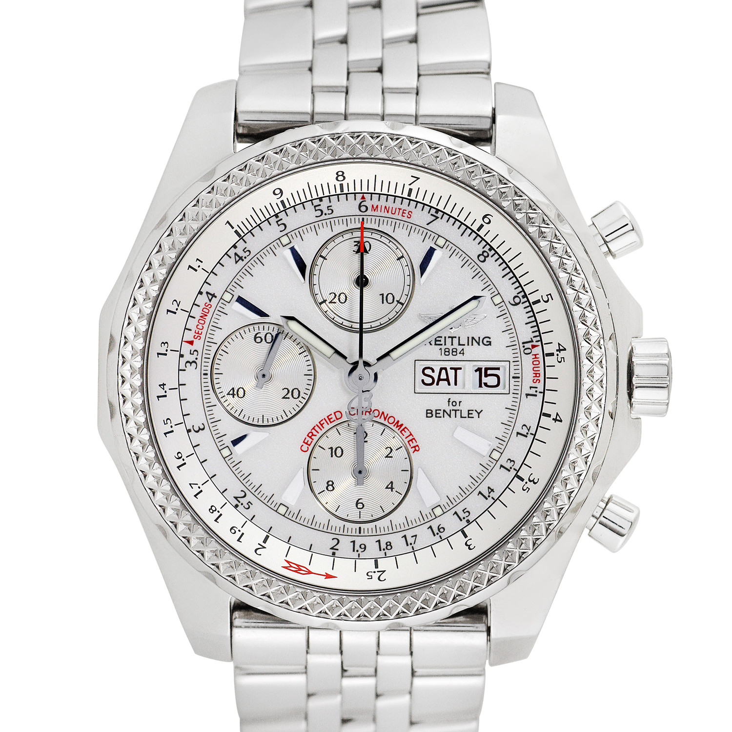 Pre Owned Bentley For Sale: Breitling For Bentley Motors GT Chronograph Automatic