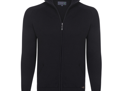 Photo of CLEARANCE: Outerwear We've Got You Covered Litter Cardigan // Black (M) by Touch Of Modern