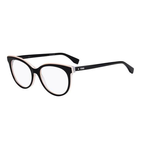 Fendi // Women's FF-0254 Optical Frames // Black