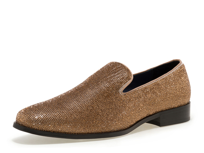 Photo of J75 by JUMP Style-Savvy Leather Shoes Gem Slip-On // Gold (US: 8) by Touch Of Modern