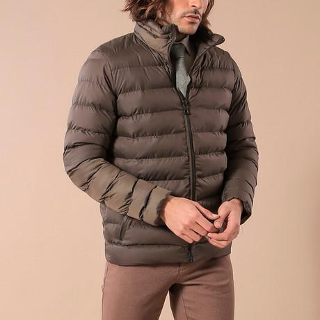 Puffy Jacket // Khaki (Euro: 44)