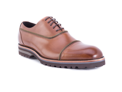 Photo of Robert Graham Bold & Classic Dress Shoes Bolton Shoe // Cognac (US: 8.5) by Touch Of Modern
