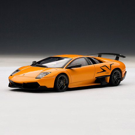 Lamborghini Murcielago LP670-4 SV (Grigio Telesto // Gray)