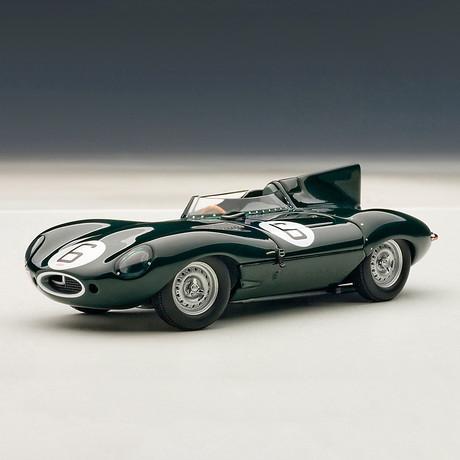 Jaguar D-Type 24HR Race 1955' Winner // J.M. HAWTHORN