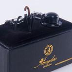 Exclusive Cufflinks + Gift Box // Chaplin