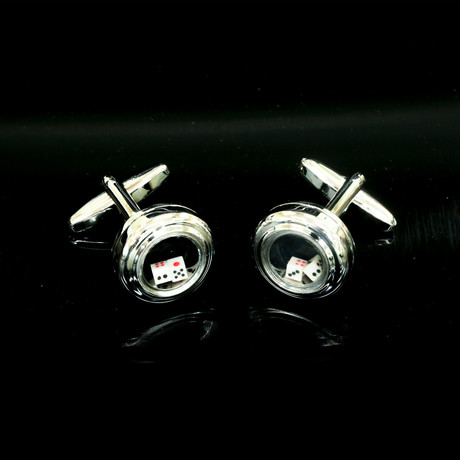 Exclusive Cufflinks + Gift Box // Functional Dice