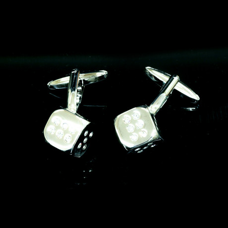 Exclusive Cufflinks Gift Box // Flashy Dice