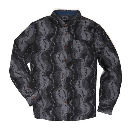 Bob Button-Down Shirt // Grey (S)