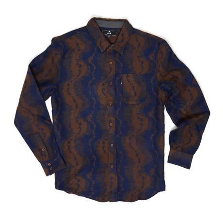 Bob Button-Down Shirt // Navy (S)