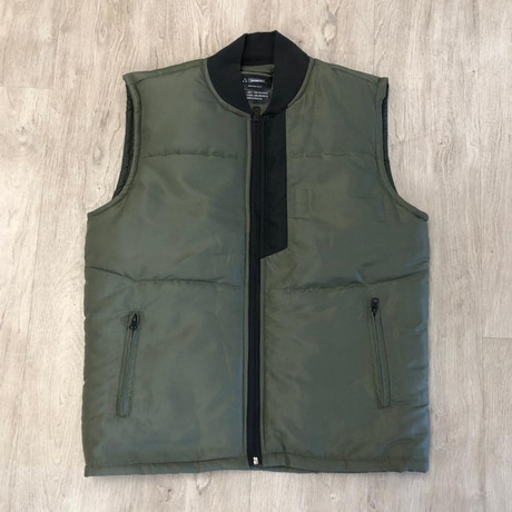 Jasper Vest // Olive (S)