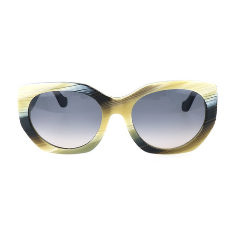 Women's BA0017 Sunglasses // Colored Horn