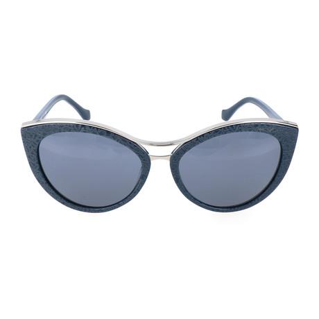 Women's BA0033 Sunglasses // Shiny Blue