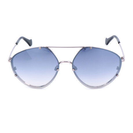 Unisex BA0085 Sunglasses // Shiny Light Ruthenium