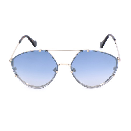 Unisex BA0085 Sunglasses // Gold