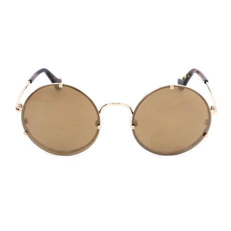 Women's BA0086 Sunglasses // Gold