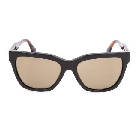 Women's BA0098 Sunglasses // Shiny Dark Brown